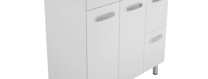 vanity cabinet only