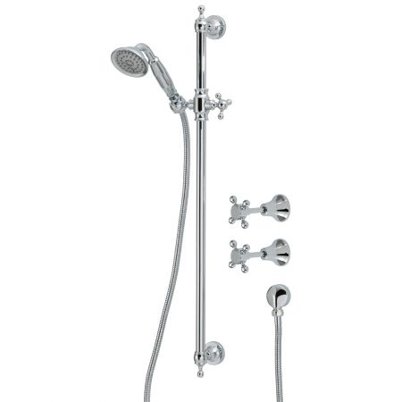 lillian chrome shower set