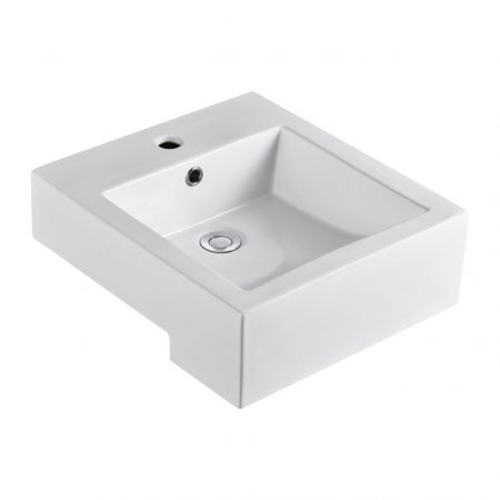 Semi-Recessed Basins