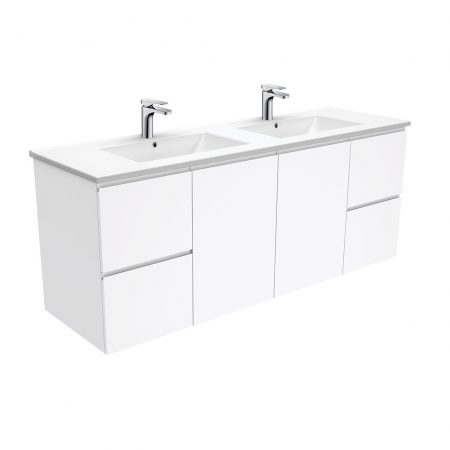 Finger Pull Wall Hung Vanity 1500