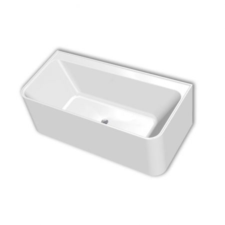 madrid 3-sided freestanding bath