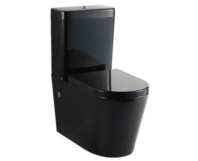 black back to wall toilet