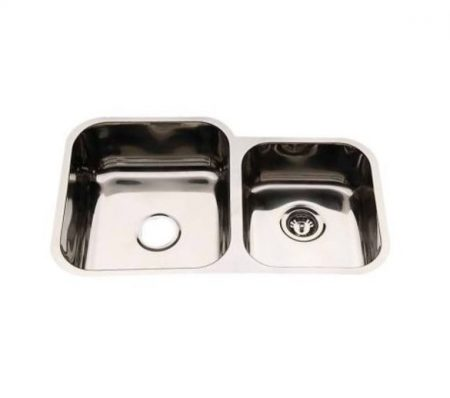 D78B double undermount kitchen sink
