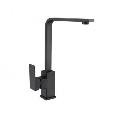 prato black sink mixer