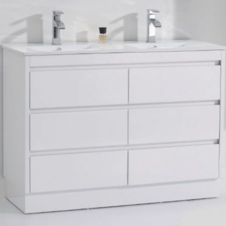 alpine 1200 double vanity