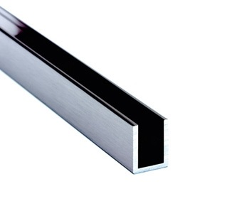 glass panel wall channels