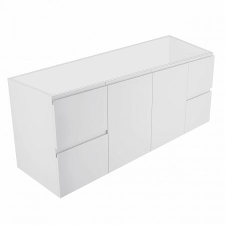 finger pull wall-hung cabinet only