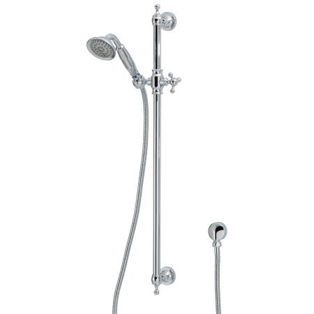 lillian chrome shower rail