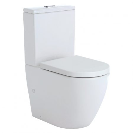 koko rimless back to wall toilet