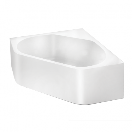 corner freestanding bath