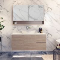 Nevada Vanities – Choose Colour – 750-1800mm – 460mm Depth