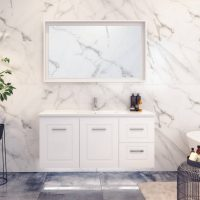 Nevada Classic Vanities – Choose Colour – 750-1800mm – 460mm Depth