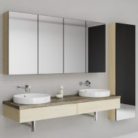 Tennessee Mirror Cabinets – Choose Colour – 600-1800mm