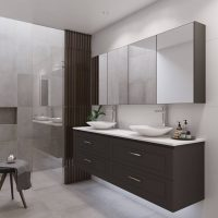 Nevada Plus Classic Vanities – Choose Colour – 750-1800mm – 460mm Depth