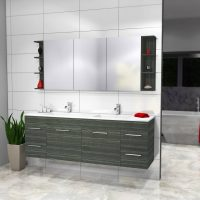 Boston Mirror Cabinets – Choose Colour – 900-1800mm