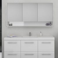 San Remo Mirror Cabinets – Choose Colour – 600-1800mm