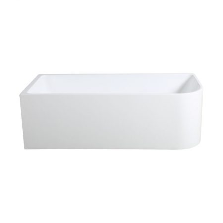 curved corner freestanding bath