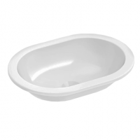 Emilia Oval Inset Basin – 430x310x125mm