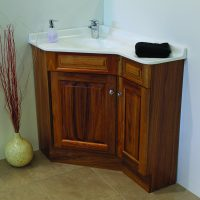 Executive Timber Corner Vanities – 610-910mm