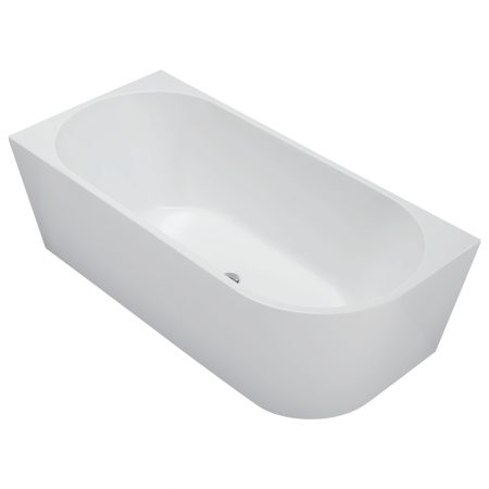 michelle corner freestanding bath