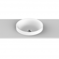 Respect Semi-Inset Basin | 395x395x45mm