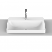 Courage Semi-Inset Basin | 545x425x45mm