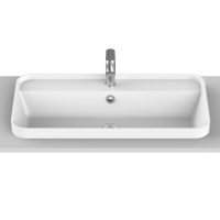 Miya Semi-Inset Basin | 750x390x45mm