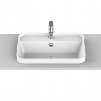 Miya Semi-Inset Basin | 550x390x45mm