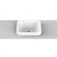 Truth Semi-Inset Basin | 365x365x45mm