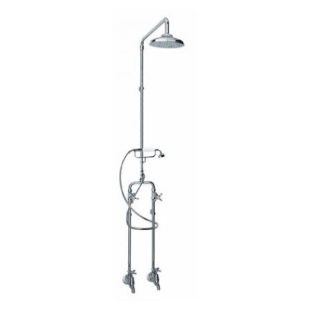 Bastow Georgian Exposed Telephone Shower Bath Combo