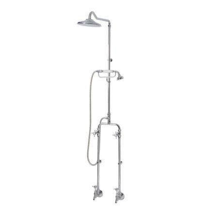 Bastow Victorian Exposed Telephone Shower Bath Combo