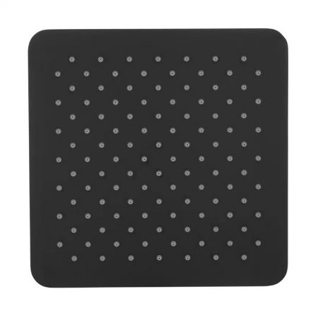 Black Square Shower Head 250mm