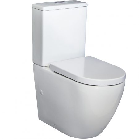 Alix Rimless Back To Wall Toilet