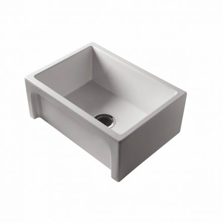 patri large single butler sink