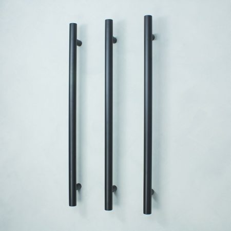 Vertical Low Voltage Single Towel Bars