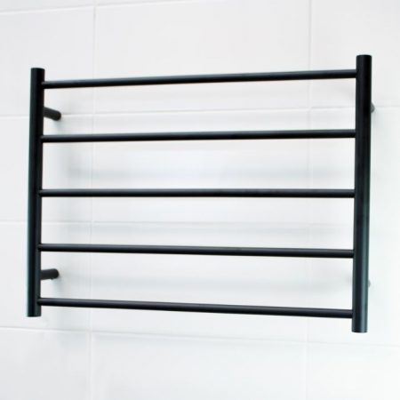 BLTR03 Black Non-Heated Towel Ladder