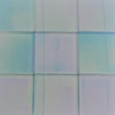 Metallic Light Blue Tile