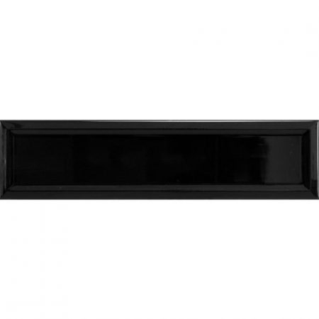 Edge Black Subway Tile