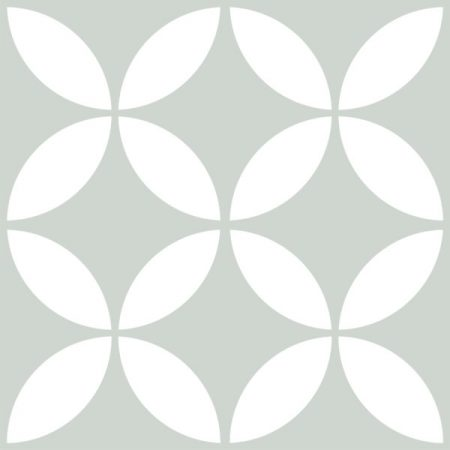 Picasso Star Pale Green Tile