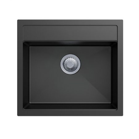 36L Carysil Black Granite Sink