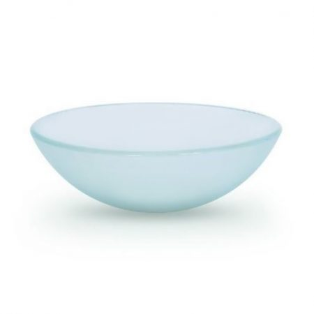 Frosted Glass Basin