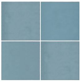 Casablanca Baby Blue Square Tile