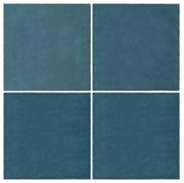 Casablanca Sky Blue Square Tile