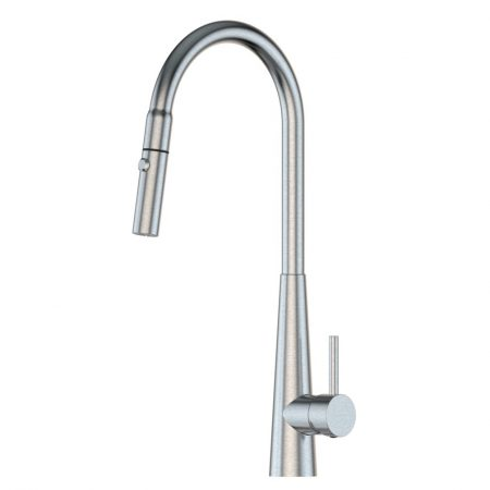 Xcel Pull Out Gooseneck Sink Mixer