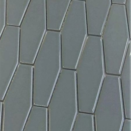 Stretched Hex Grey Tile