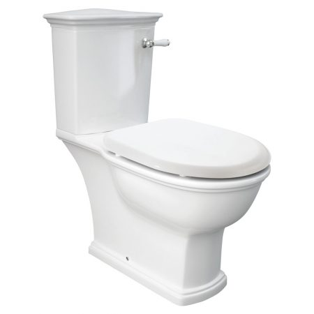 Washington Lever Close Coupled Toilet