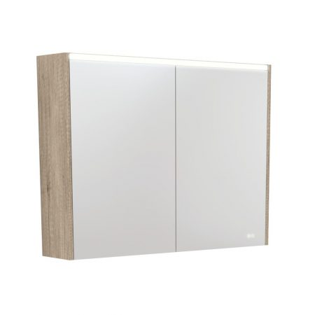 LED Side Panel Mirror Cabinets
